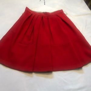 Banana Republic Cherry Red Skirt (Lined). Size 6